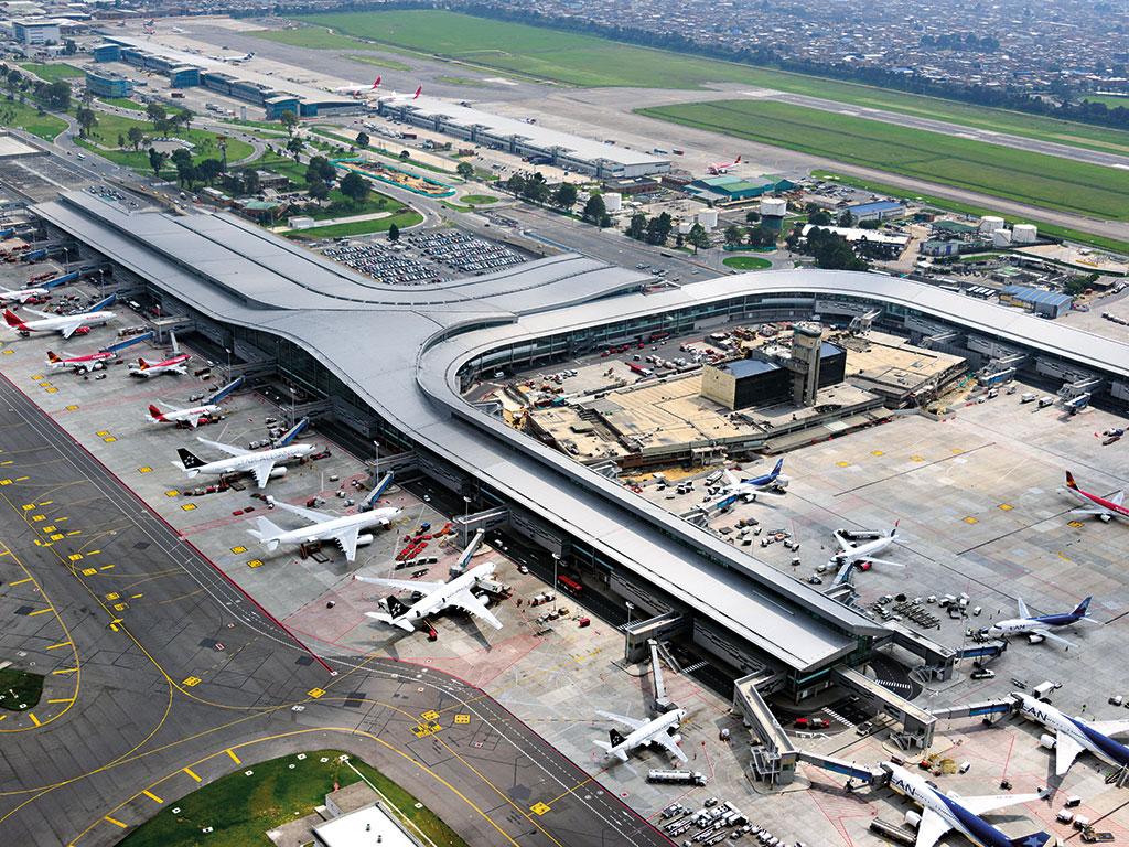 Аэропорт Богота