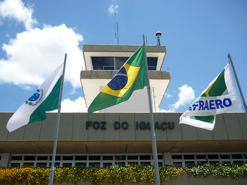 Водопады Игуасу аэропорт