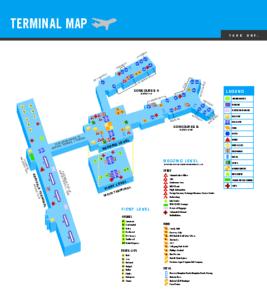 Схема аэропорта Норфолка