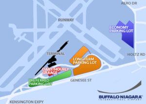 Схема аэропорта Буффало