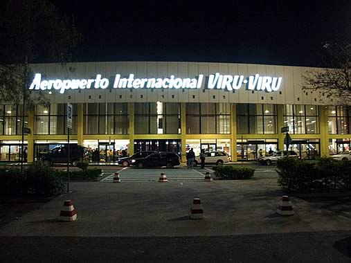 Санта Крус аэропорт