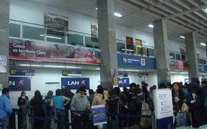 Зал аэропорта Куско