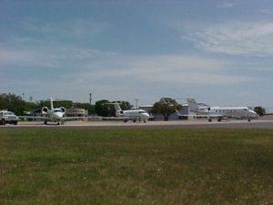 Стоянка аэропорта Джорджтаун