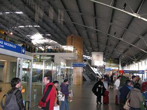 Зал аэропорта ПунтаАренас