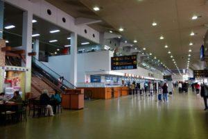 Зал аэропорта Санта Крус