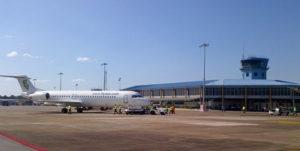 Стоянка аэропорта Парамарибо