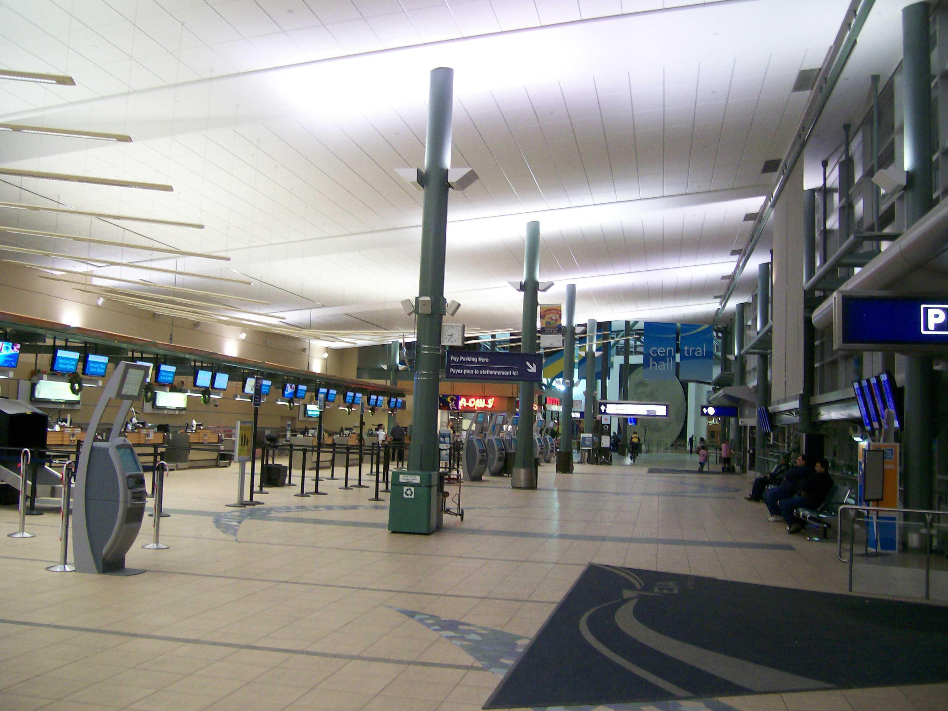 Аэропорт Эдмонтон