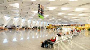 Зал аэропорта Марракеша-Менара