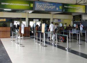 Зал аэропорта Занзибара
