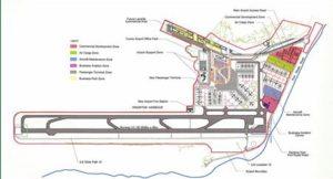 Схема аэропорта Кингстон