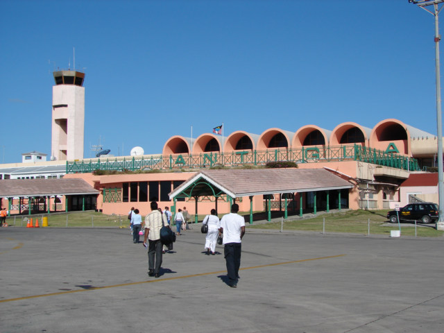 Антигуа аэропорт