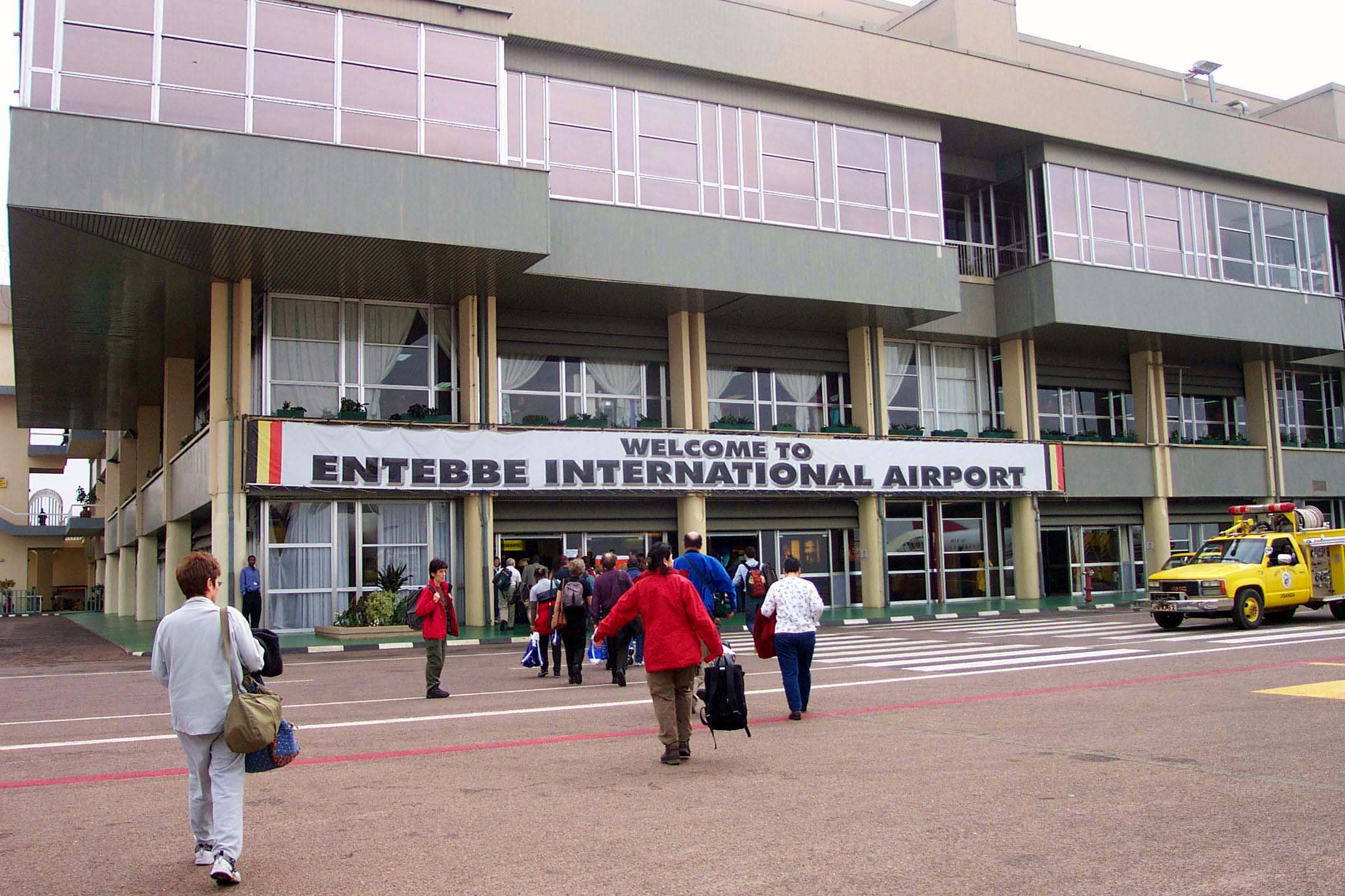 аэропорт Энтеббе