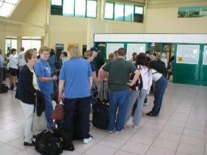 Зал аэропорта Кайо-Коко