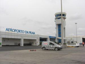 Диспетчерская аэропорта Прая