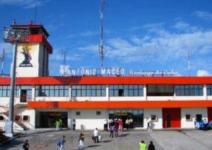 Поле аэропорта Сантьяго-де-Куба