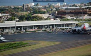 Поле аэропорта Санкт-Китс