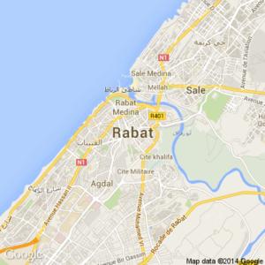 схема аэропорт Рабат