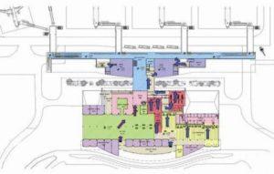 Схема аэропорта Дуала