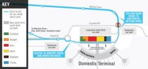 Схема аэропорта Брисбен