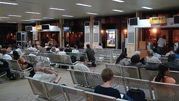 Зал аэропорта Дакар