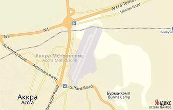 схема аэропорт Аккра