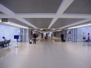 Зал аэропорта Гватемала - Сити