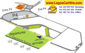 Схема аэропорта Лагос