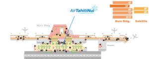 Схема аэропорта Папеэте