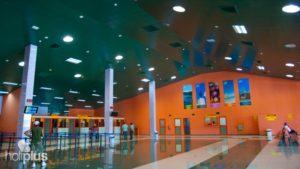 Зал аэропорта Санта-Клара