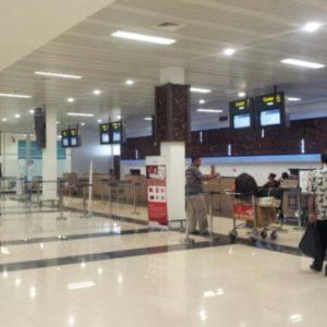 Зал аэропорта Танжунг-Редеб