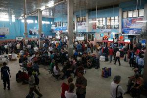 Зал аэропорта Катманду