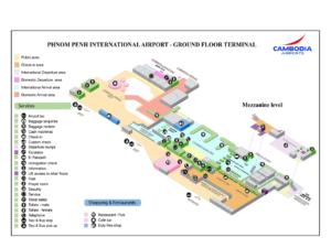 Схема аэропорта Пномпень