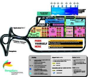 Схема аэропорта Бангалор