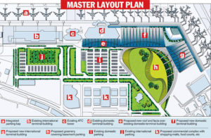 Схема аэропорта Калькутты
