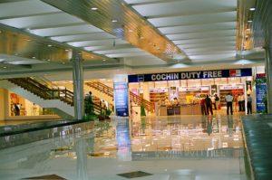 Зал аэропорта Кочин