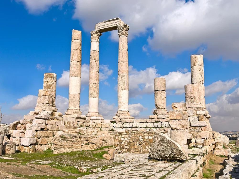 Храм Геркулеса, Амман