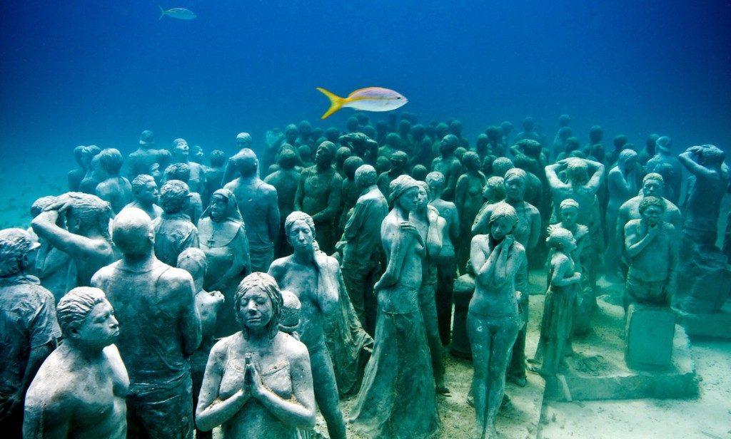 Подводный музей скульптур, Канкун