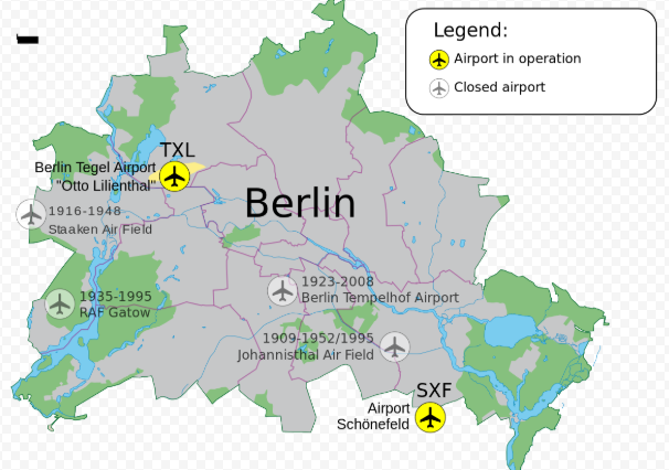 Аэропорты Берлина